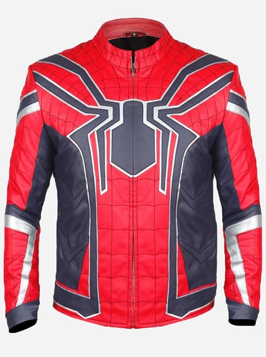 Avengers-Infinity War Spiderman Jacket