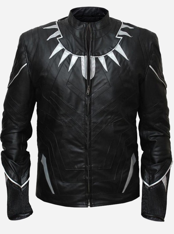 Black Panther Party Leather Jacket