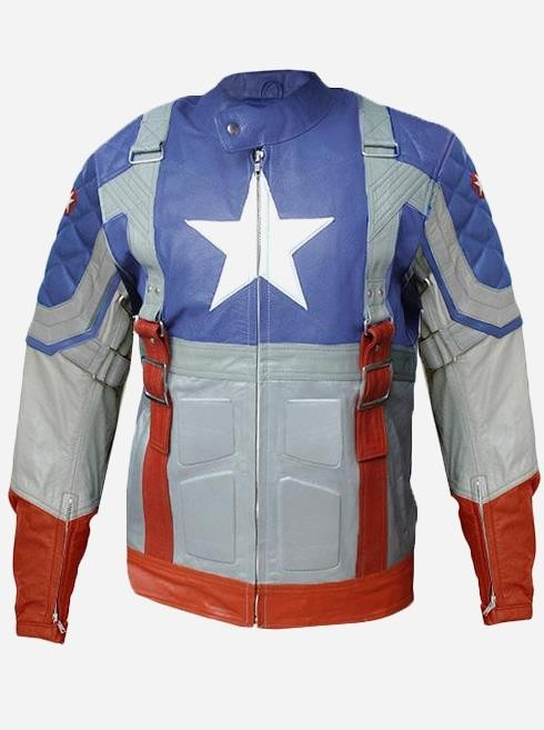 Desingers Men's Avengers Leather Jacket