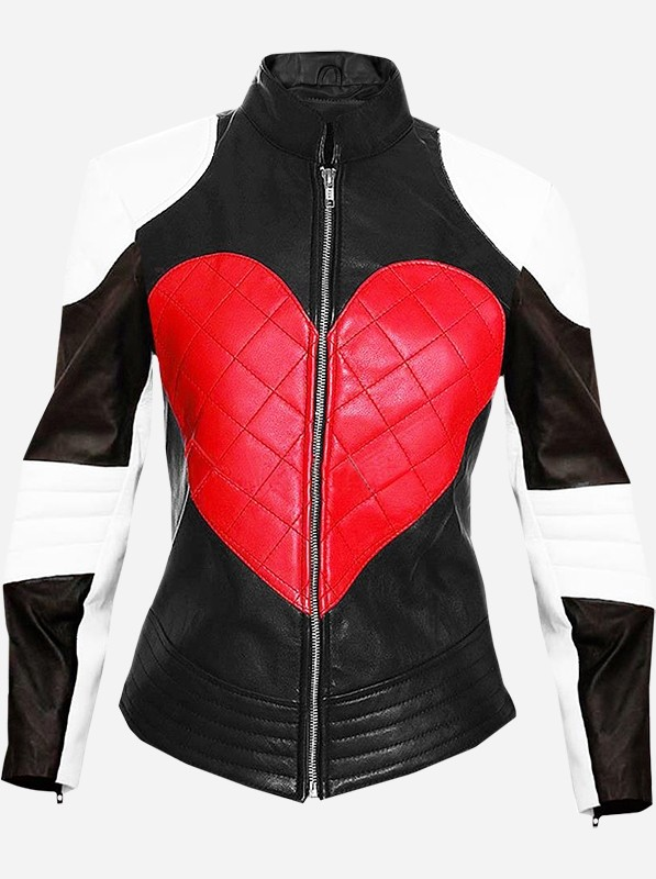 Kylie Minogue Heart Leather Jacket