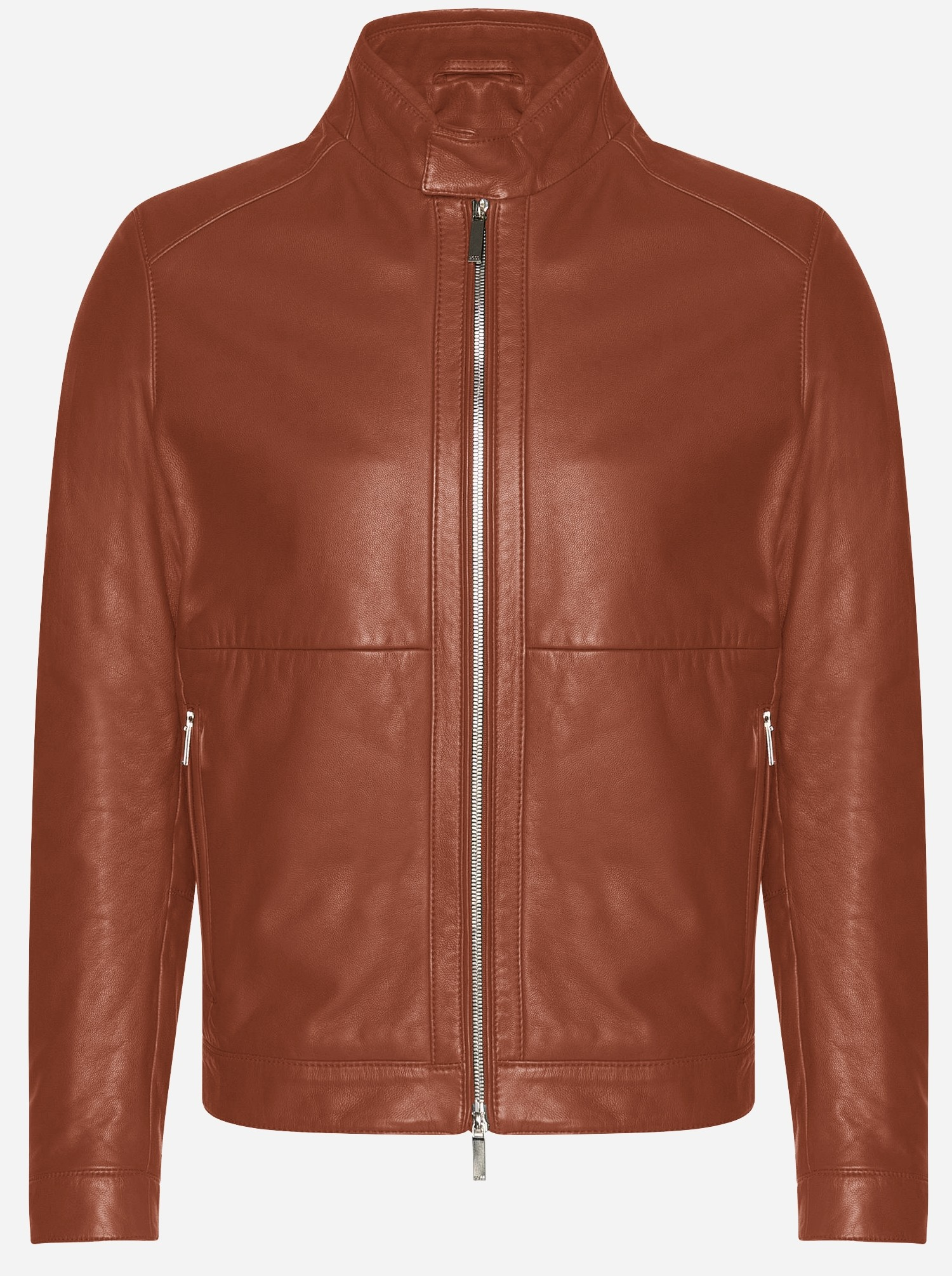 Russet Leather Jacket