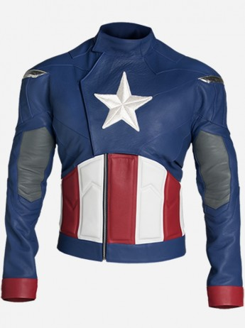 Chris Evans Steve Rogers Captain America Jacket