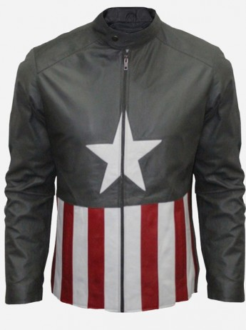Bon Jovi Captain America Leather Jacket