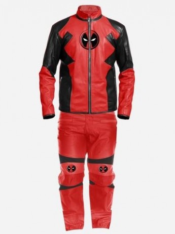 DeadPool Leather Costume for Men