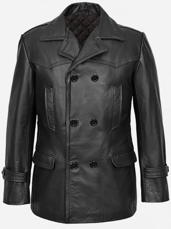 DR.Who Leather Jacket For Men