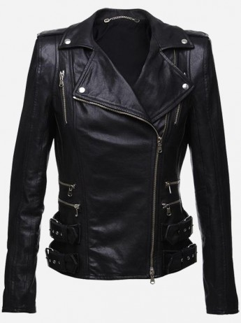 Women's Black Sheep Leather Jacket