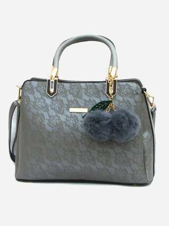 Gorgeous Gray Bag - Carry All Women Shoulder Bag - Wedding Bag