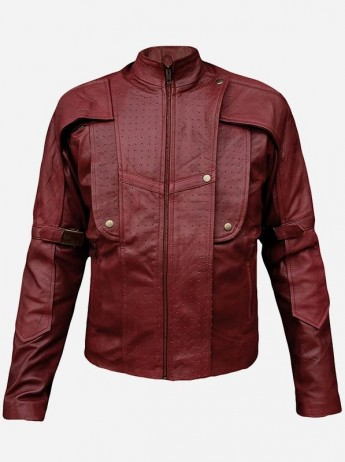 Guardians of the Galaxy Star Lord Leather Jacket for Men