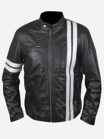 John Tanner Leather Driver Jacket