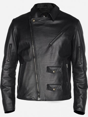 leather jacket business casual