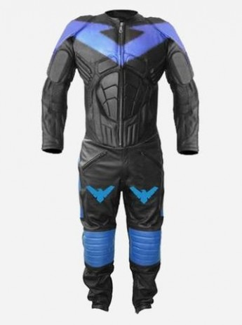 NightWing Leather Costume for Men