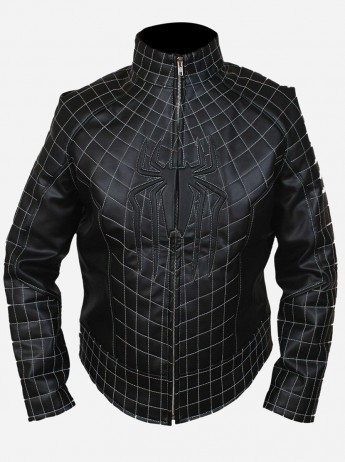 Spiderman Adults Leather Jacket