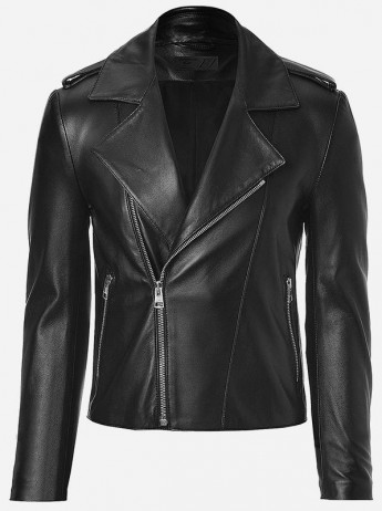 Street Fashion Black Leather Jacket Men