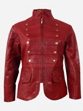 Cherry Leather Jacket