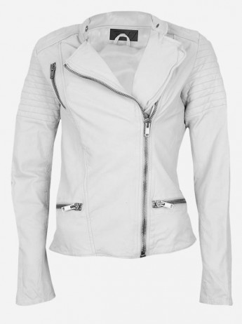 Cheap White Leather Jacket