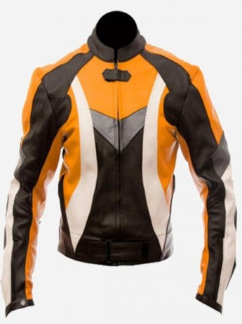 Women Protective Leather Jacket
