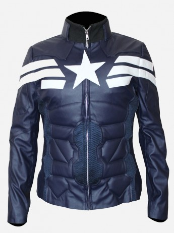 Women Captain America Winter Soldier Jacket
