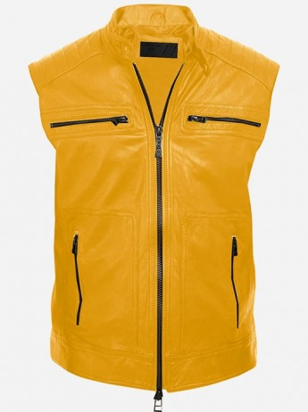 Bikers Club Leather Vest